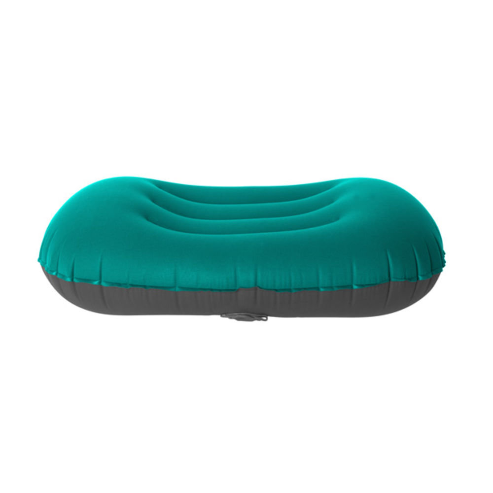 Подушка надувная Sea to Summit Aeros Ultralight Pillow Large teal/grey другой ракурс
