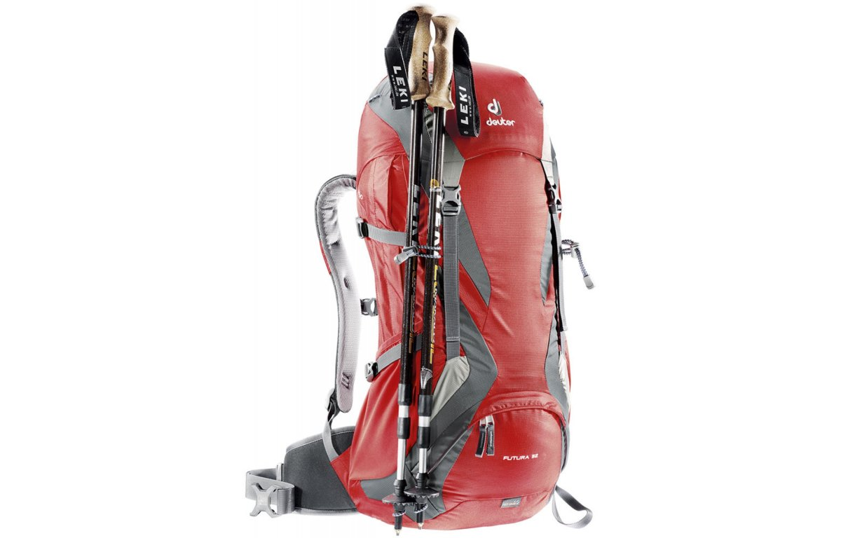 Рюкзак Deuter Futura 32 fire-granite (5510) Futura 32 6 34254 5510
