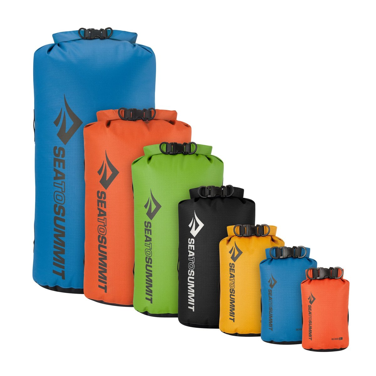 Гермочехол Sea to summit Big River Dry Bag Blue, 8 L Герсмочехол Sea to summit Big River Dry Bag Blue, 8 L 1 STS ABRDB8BL