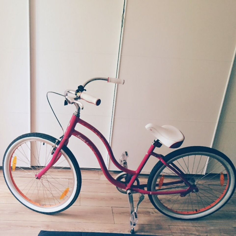 Велосипед Giant SIMPLE SINGLE W berry Giant SIMPLE SINGLE W bike