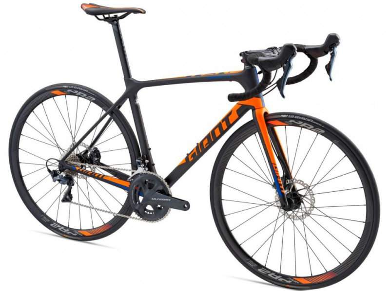 Велосипед Giant TCR ADVANCED 1 DISC composite Giant TCR ADVANCED 1 DISC side 80004414 80004415