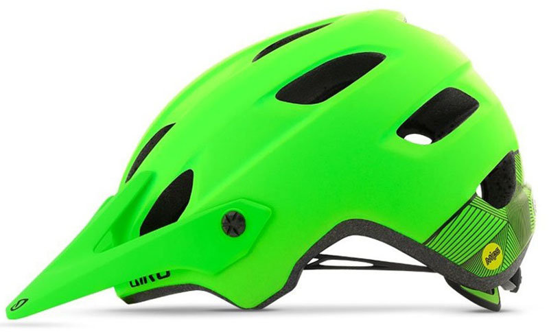 Велосипедный шлем Giro CHRONICLE MIPS lime-black Giro CHRONICLE MIPS lime-black side