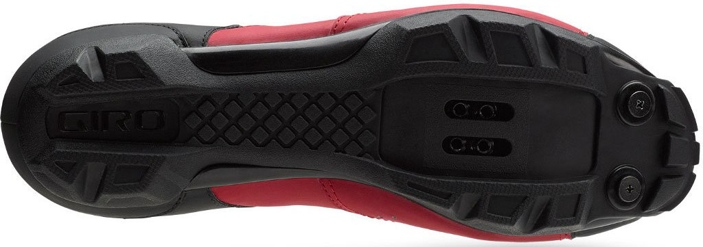 Велотуфли Giro CYLINDER red-black Giro Cylinder  sole 7089746