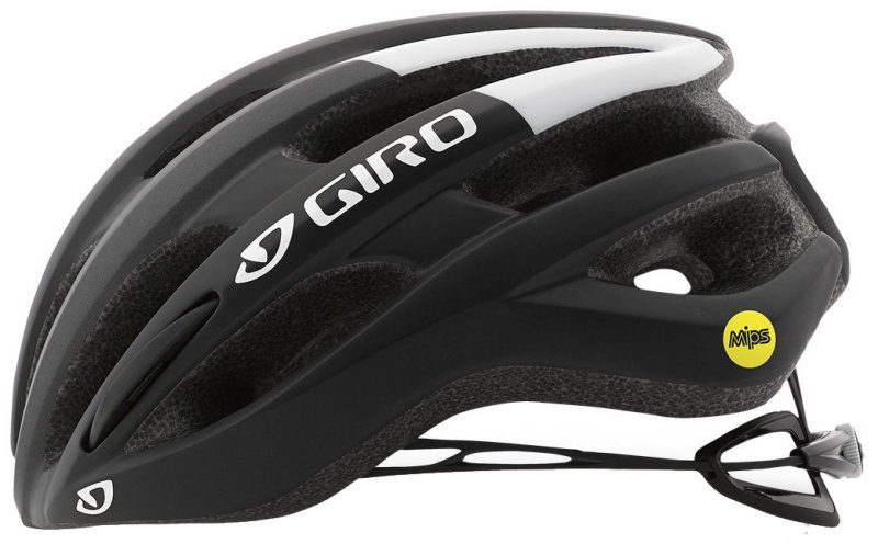 Велосипедный шлем Giro FORAY MIPS matte black-white Giro FORAY matte black-white side