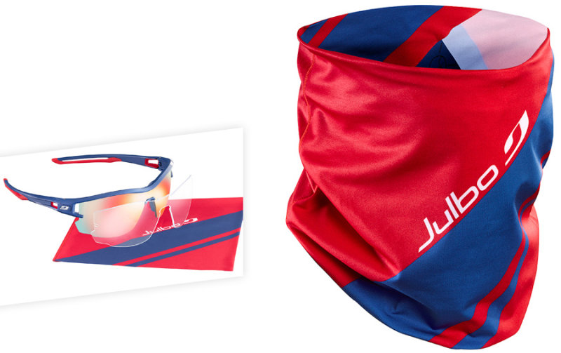 Очки Julbo AERO PRO MF blue-red Julbo AERO PRO MODEL MF comp J4833136