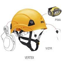 Каска Petzl Vertex BEST black Каска Pe1tzl Vertex BEST black 1 A10BNA