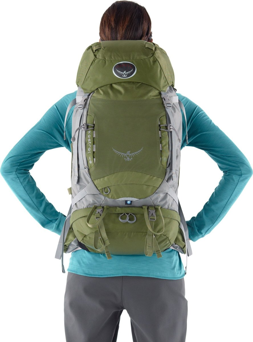 Рюкзак Osprey Kestrel 58 Jungle Green Kestrel 58 6