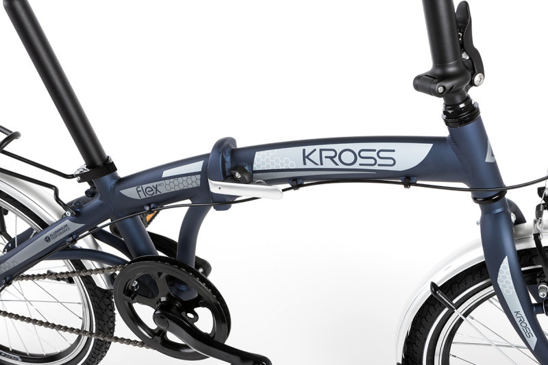Велосипед Kross FLEX 3.0 blue Kross FLEX 3.0 frame