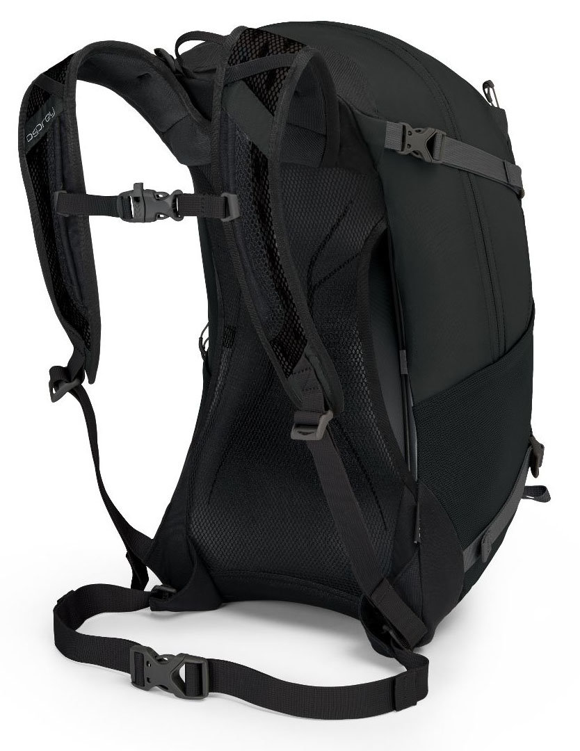 Велосипедный рюкзак Osprey HIKELITE 26 black Osprey HIKELITE 26 back