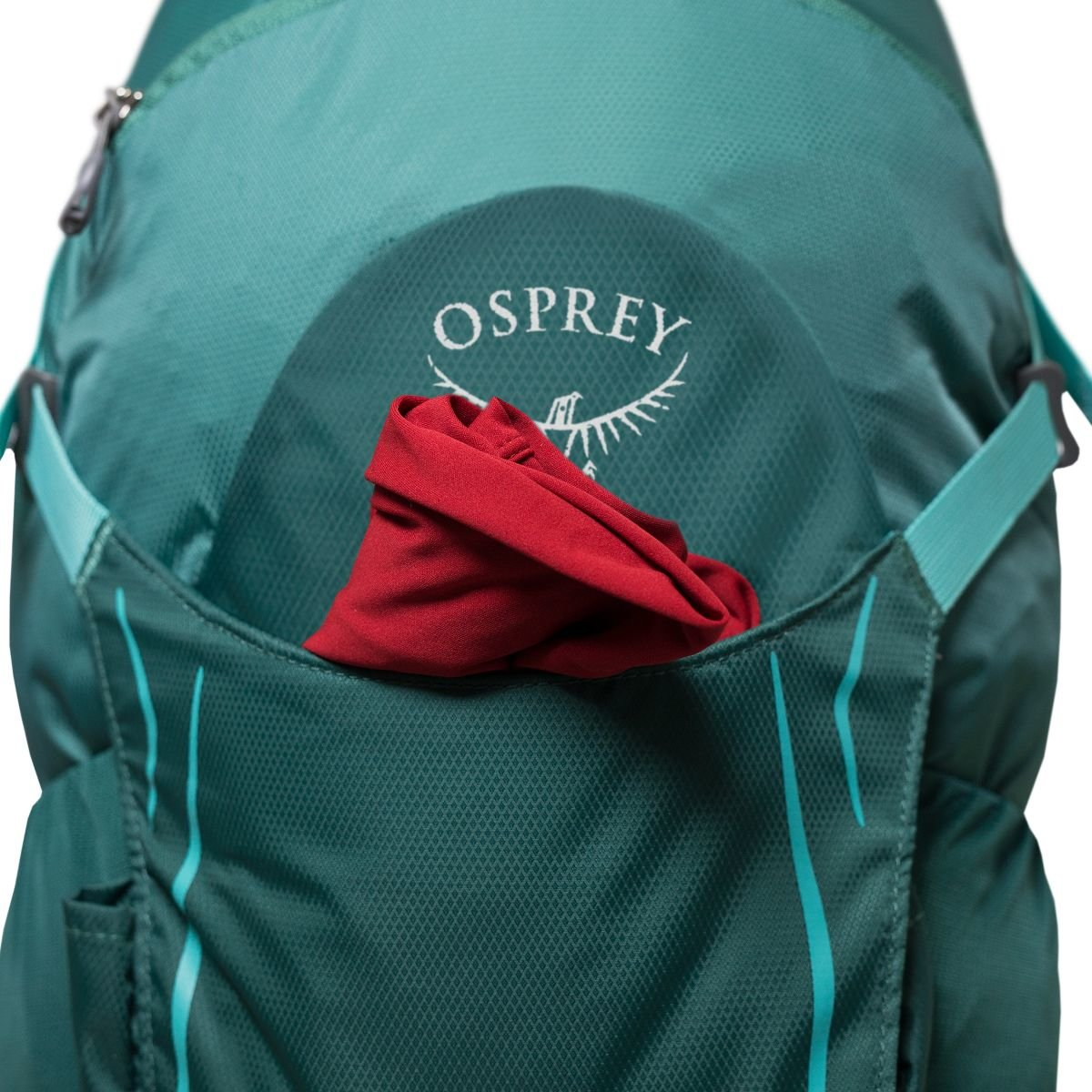 Велосипедный рюкзак Osprey HIKELITE 26 black Osprey HIKELITE 26 front pocket