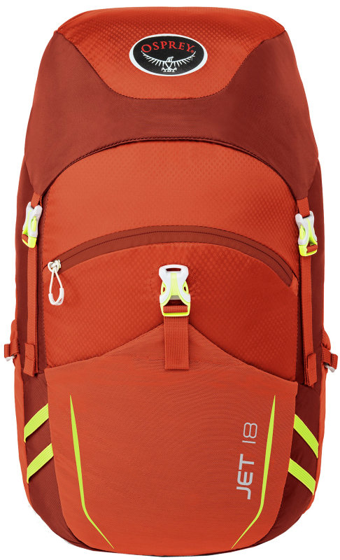 Рюкзак Osprey JET 18 strawberry red Osprey JET 18 front 009.0375