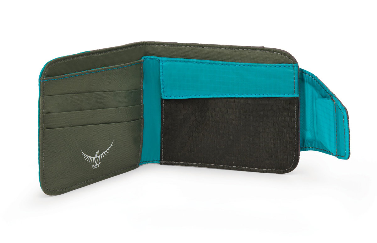 Кошелек Osprey QuickLock RFID Wallet Tropic Teal QuickLock RFID Wallet 2 009.1654