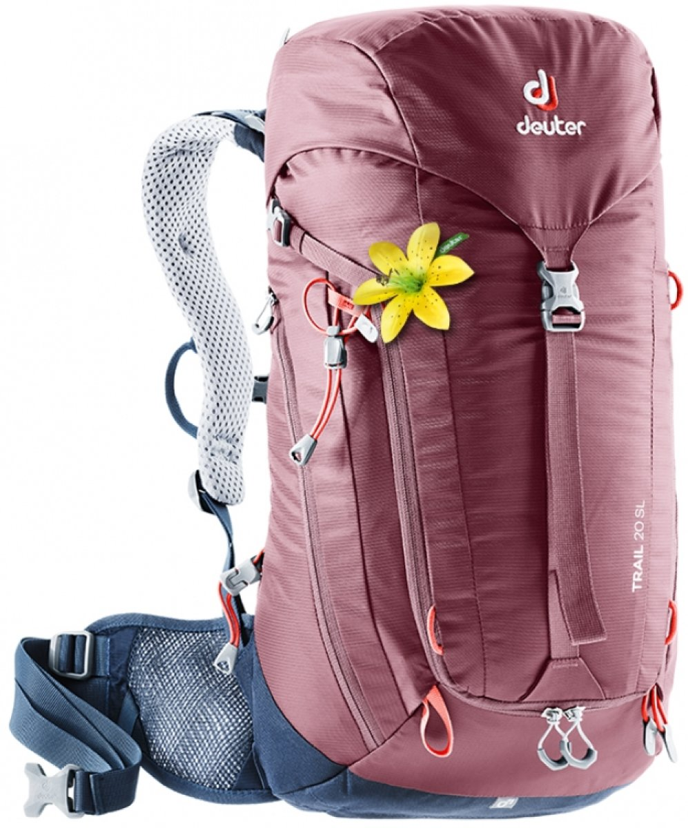 Рюкзак Deuter Trail 20 SL цвет 5322 maron-navy 2 Рюкза1к Deuter Trail 20 SL цвет 5322 maron-navy 3440019 5322