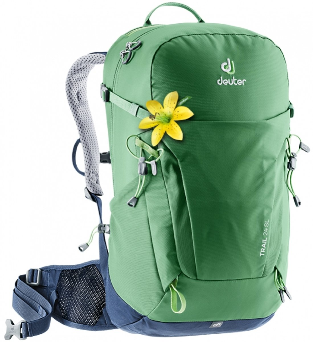 Рюкзак Deuter Trail 24 SL цвет 2326 leaf-navy 2 Рюкзак Deu1ter Trail 24 SL цвет 2326 leaf-navy 3440219 2326