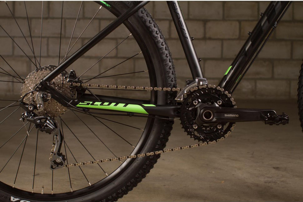 Велосипед Scott ASPECT 720 black Scott ASPECT 720 black crankset