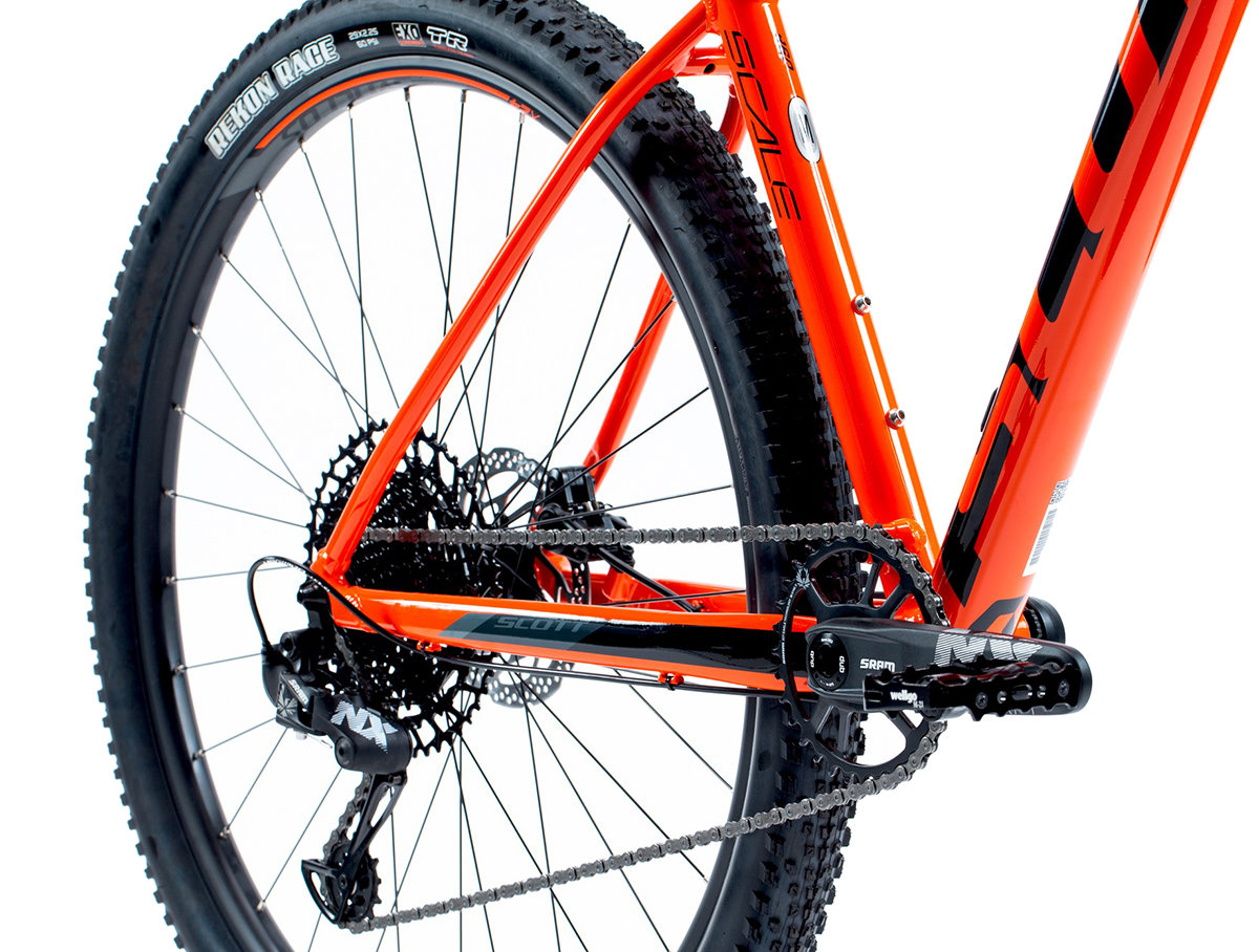Велосипед Scott SCALE 960 29 orange Scott SCALE 960 29 orange crankset 269739.008