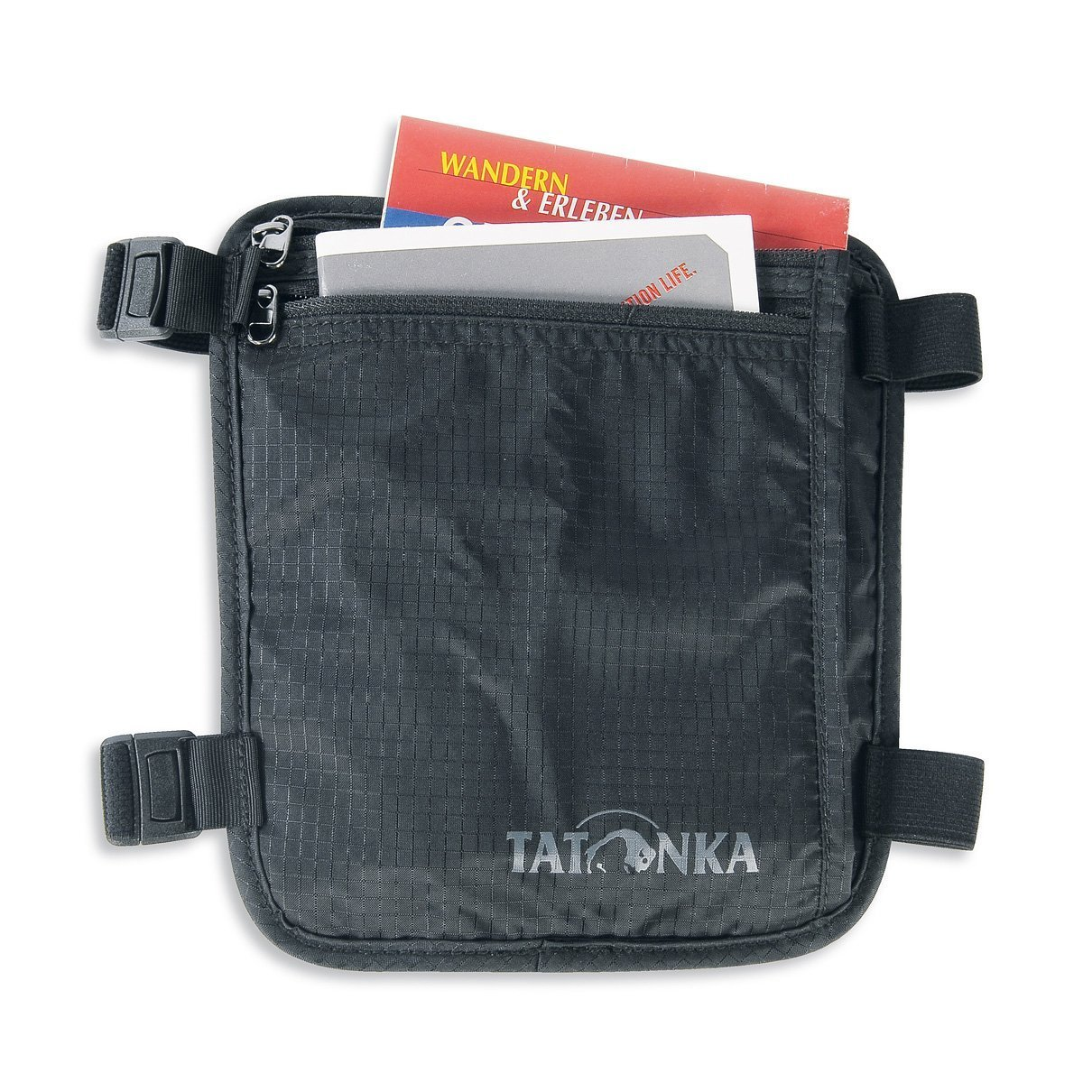 Кошелек Tatonka Skin Secret Pocket (Black) Skin Secret Pocket 3 TAT 2854.040