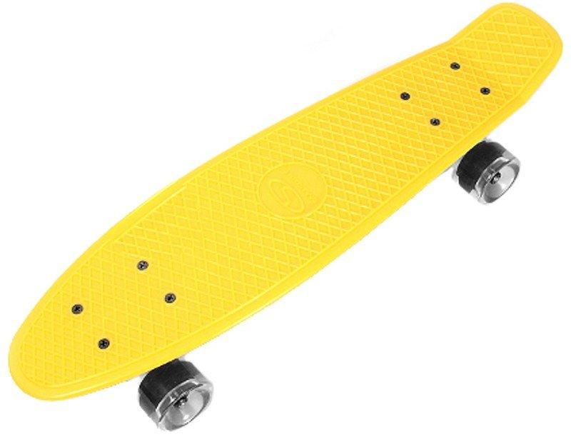 Скейтборд SMJ Sport CR-2206P yellow - отзывы, видео, инструкция ... 4f3c0fae1e0