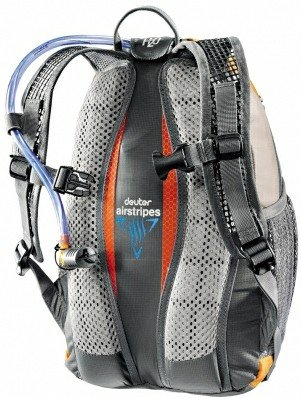 Рюкзак Deuter ULTRA BIKE 5470 fire-silver Спинка 36062 5470