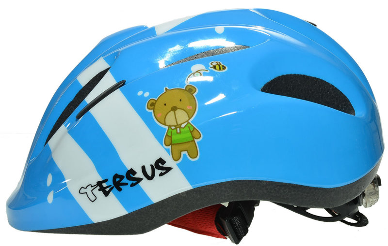 Велосипедный шлем Tersus JOY dreamy bear Tersus JOY dreamy bear l side 18-OWT24-T002-XS