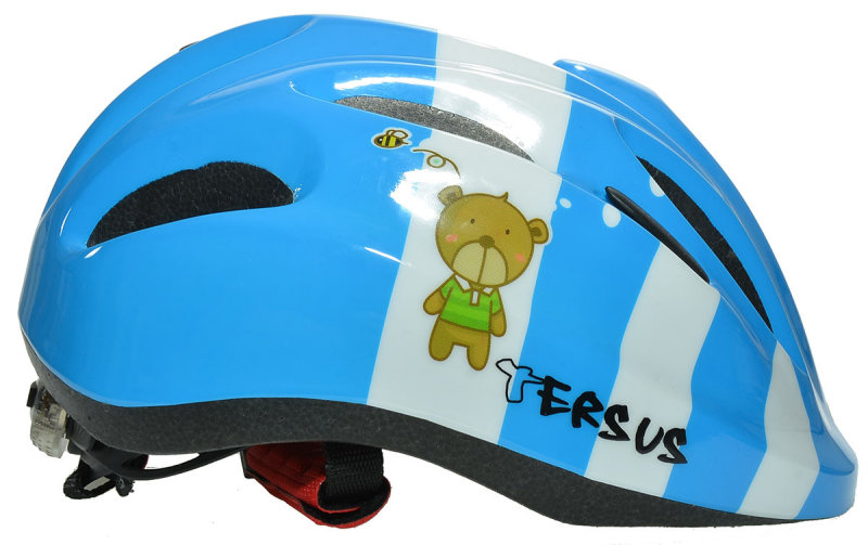 Велосипедный шлем Tersus JOY dreamy bear Tersus JOY dreamy bear r side 18-OWT24-T002-XS