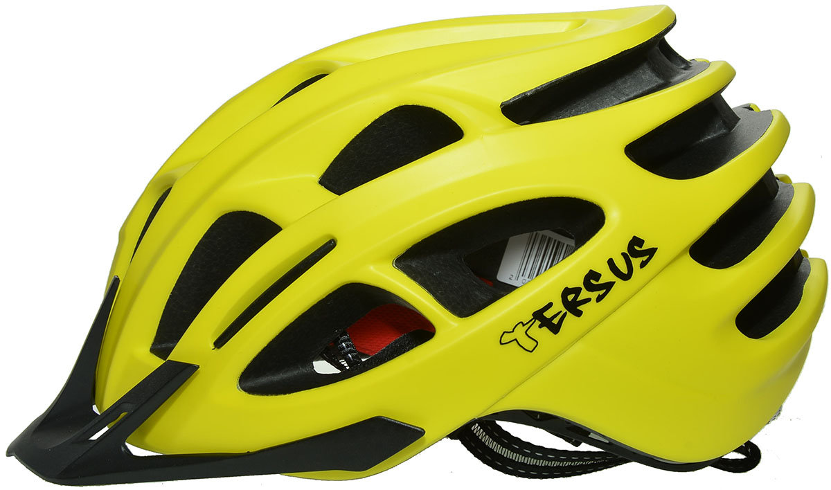 Велосипедный шлем Tersus RACE neon yellow Tersus RACE side yellow 18-IRM06-T019-M/L