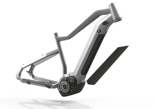 Электровелосипед Haibike XDURO ALLMTN 3.0 white-grey-black The Haibike Intube Battery Concept (IBC)
