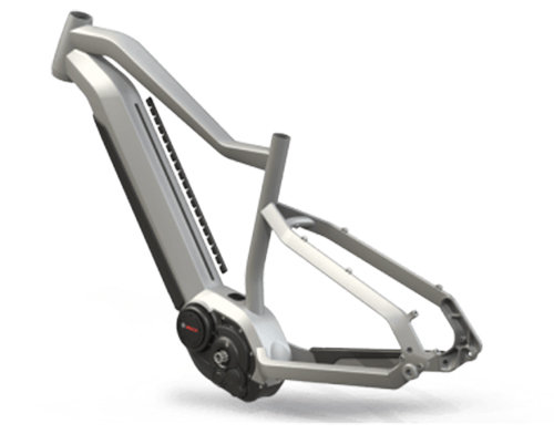 Электровелосипед Haibike XDURO ALLMTN 3.0 white-grey-black The Modular Rail System (MRS)