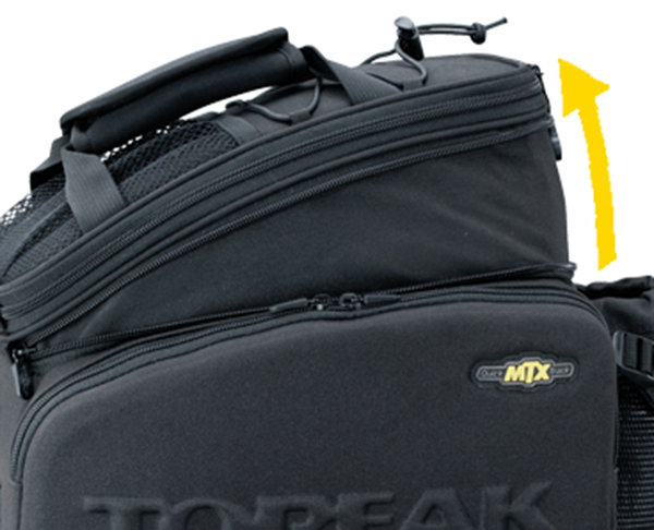 Велосумка Topeak MTX TRUNKBAG DX 12.3 Topeak MTX TRUNKBAG DX top TT9648B