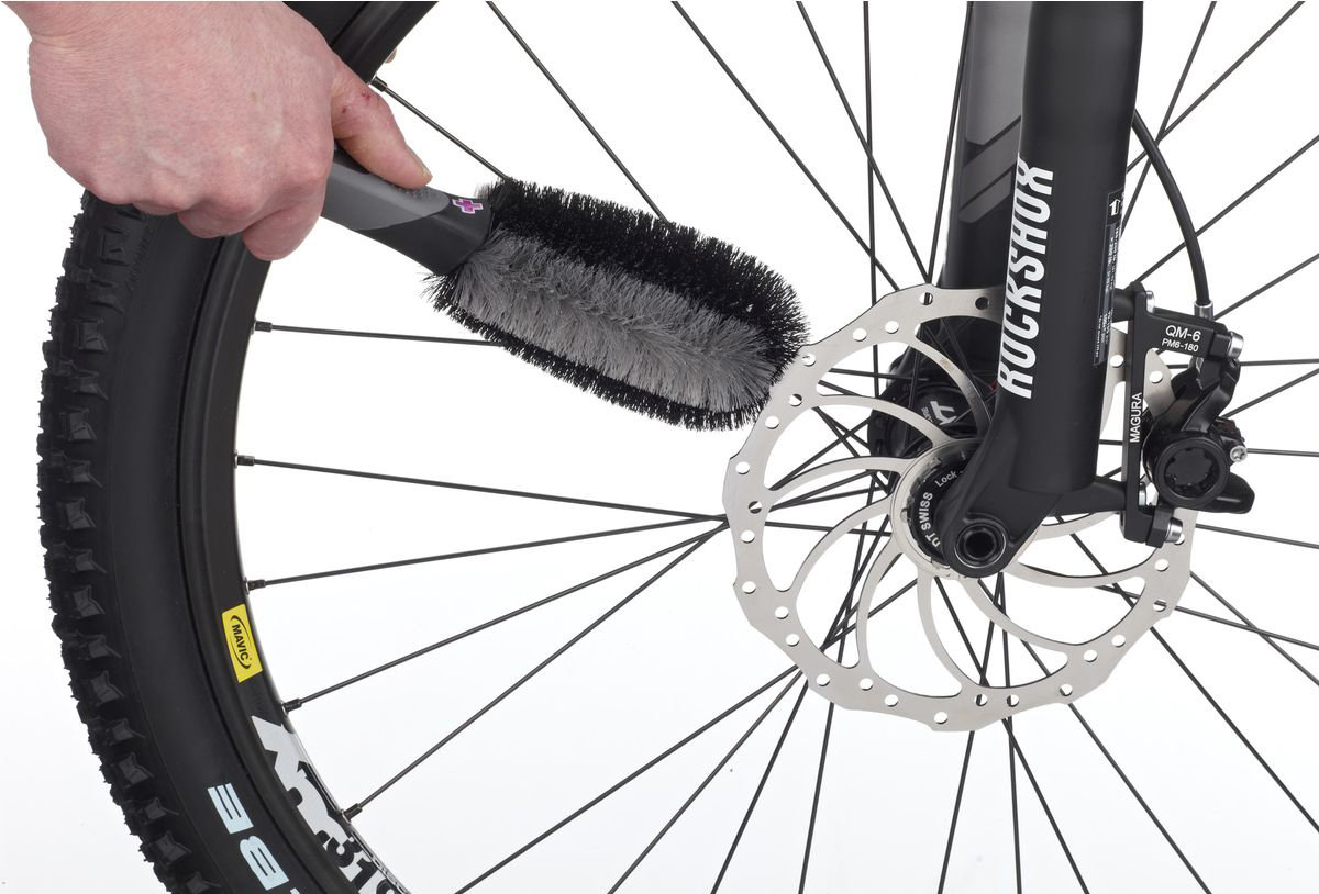 Щетка Muc-Off Wheel & Component Brush Wheel & Component Brush 6 MC.371