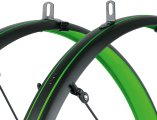 Крылья SKS Bluemels Stingray Mudguards 45mm 28˝ Matt Black/Lime Green 3 SKS Bluemels Stingray 813437
