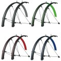 Крылья SKS Bluemels Stingray Mudguards 45mm 28˝ Matt Black/Lime Green 5 SKS Bluemels Stingray 813437
